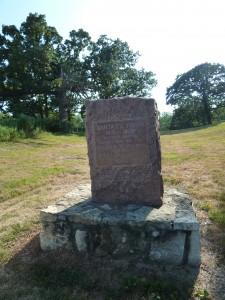 Santa Fe Trail marker