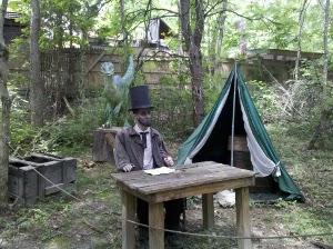 Lincoln at Dinosaur Kingdom