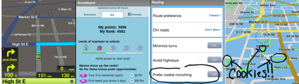 Waze Screenshots
