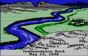 Independence Rock OT screen