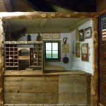 Replica of First Post Office in Ft. Kearny