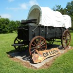 Replica of Pioneer Wagon