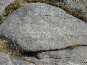 Names on the Rock