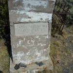 The Only Standing Gravestone in the Miner's Delight Cemetery