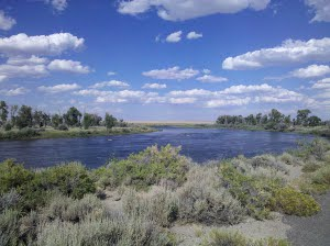 River in Wyoming